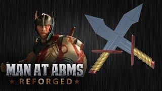 Thor's Dual Swords - Thor: Ragnarok - MAN AT ARMS: REFORGED