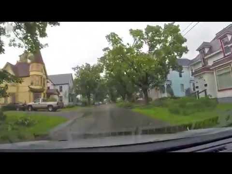 Hurricane Arthur - Yarmouth Nova Scotia