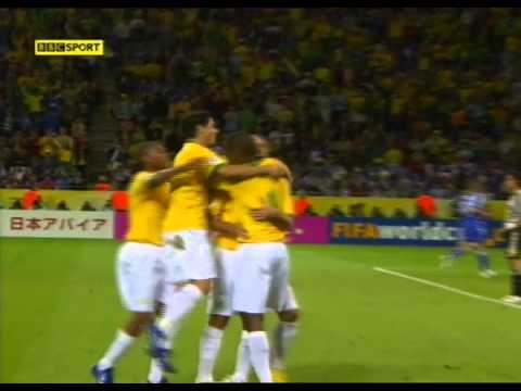 Ronaldo 4-1 Brazil V Japan 2006 World Cup