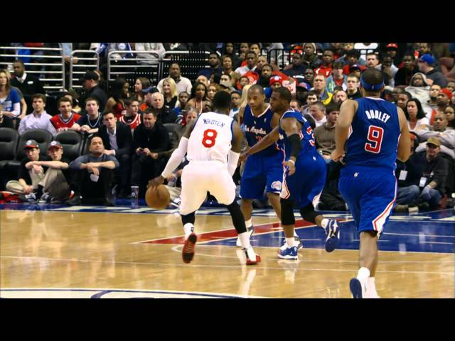 Tony Wroten's Over the Shoulder Assist to Evan Turner