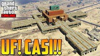 UFFF CASI!! Gameplay GTA 5 Online Funny Moments