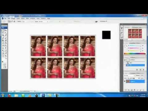 how to make a photo passport size on mac