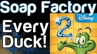 Where's My Water? 2 Soap Factory Every Duck Guide