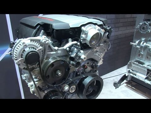 The New Chevy LT1 Motor - SEMA 2012