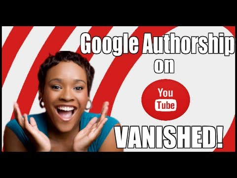 Google Authorship on YouTube Videos has Vanished