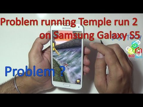 Samsung Galaxy S5: Problem with playing Temple Run 2