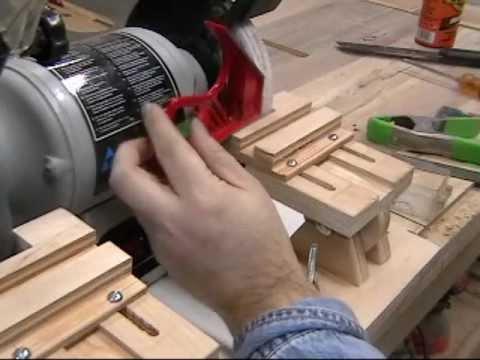 Homemade Grinder Tool Rest Amp Veritas Grinding Jig Review
