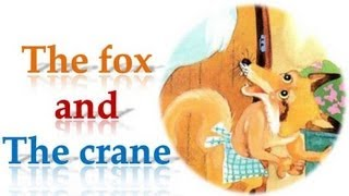 The Fox and the Crane Story with subtitles