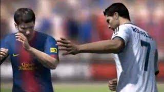 Ronaldo Ve Messi Yumruklaştı! FIFA 14