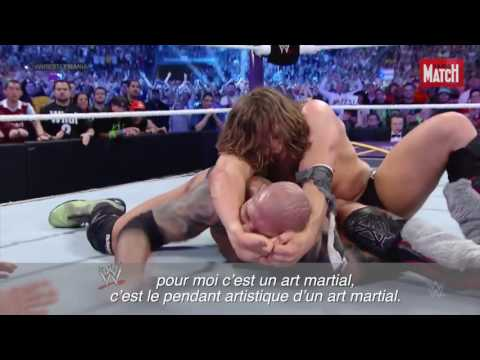Interview de Daniel Bryan à WWE SummerSlam 2016 par paris match