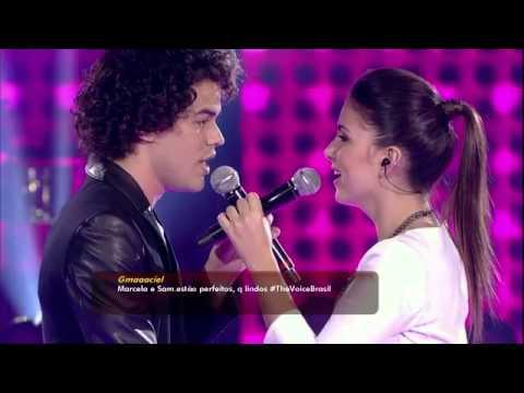 Sam Alves e Marcela Bueno - Thousand Years - Dueto - The Voice Brasil