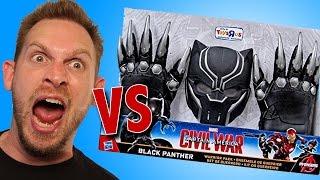 Marvel Civil War Black Panther Warrior Pack Unboxing