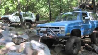 K5 Blazer Rock Crawling Clearwater 4wheelers