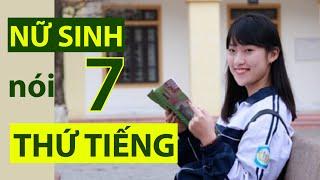 """(VTC14)_Gặp nữ sinh xứ Nghệ """"nói 7 thứ tiếng"""""""