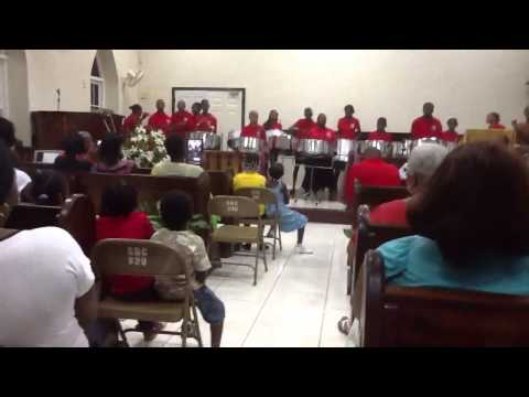 Salem Baptist Church Jamaica Steel Pan Ensemble.  I Want To Say I Love