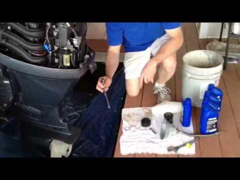 Yamaha Outboard Oil Change