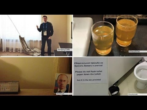 Journalists find hotels 'unfinished' - Sochi 2014 - BBC News