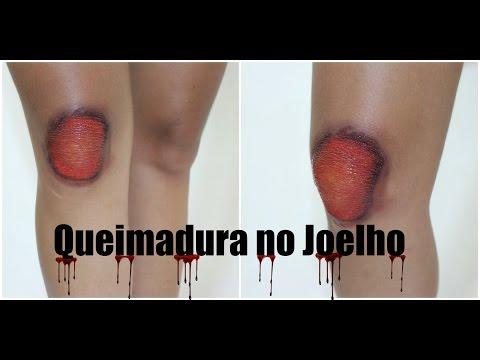 Joelho Queimado - Tutorial Maquiagem Artística
