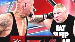 WWE Wrestlemania 30 ( *** ) 6th April-2014  Undertaker Vs Brock Lesnar