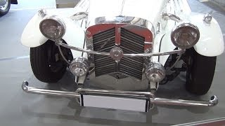 [Mercedes-Benz SSK Gazelle (1929) Exterior and Interior in 3D...] Video