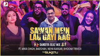 Sawan Mein Lag Gayi Aag Dandiya Beat Mix DJ Suketu Video HD Download New Video HD