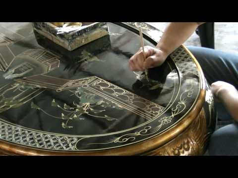 China Furniture and Arts - Handpainted Furniture: The Process and the