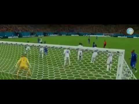 first week's top 5 goals in the world cup brazil 2014
