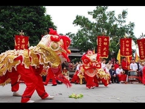 Múa Lân Sư Rồng - Hội Thi Múa Lân Trung Thu 2015 - Lion dance