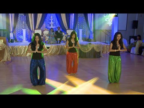 Girls Dance Performance An Indian Wedding Dance Performance