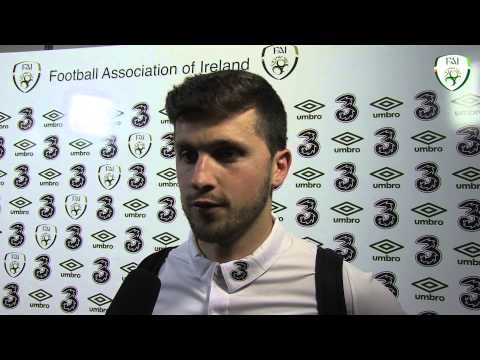 Shane Long post match interview - Ireland 1 Turkey 2