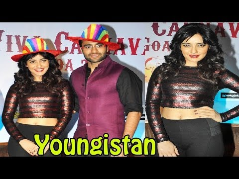 Jackky & Neha Sharma Spotted @ Launch Of Goa Carnival 2014