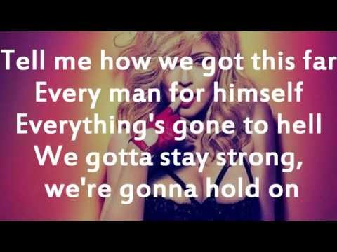 Madonna-GhostTown || Lyrics