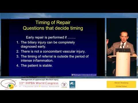 MTP01 - Management of Laparoscopic Bile Duct Injury