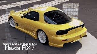Forza 5 Drift Car Building & Tuning #3 Mazda Rx7
