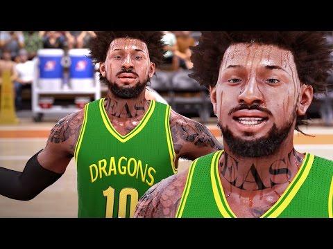 NBA 2k16 My Career Gameplay Ep. 4 - Dunking & Talking Trash in 2nd HIGH SCHOOL Game!
