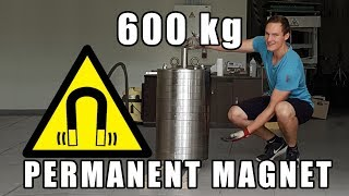 Massive 600 kg (1300 lbs) Neodymium Magnet [4k]