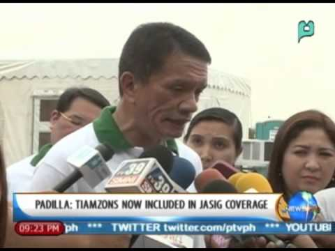 [NewsLife] Padilla: Tiamzons now inlcuded in 'Jasig coverage'