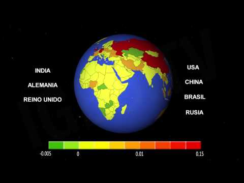 Paises responsables del calentamiento global / Responsible countries for Global warming [IGEO.TV]