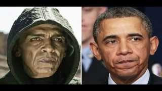 """Obama's Twin Satan In The Movie """"The Bible"""" Look Alike Picture"""