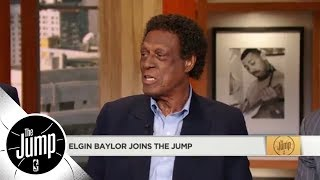 NBA legend Elgin Baylor praises Steph Curry: 'He is a freak of nature' | The Jump | ESPN
