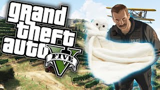 GTA 5 Online Funny Moments! Pigs In Blankets!!