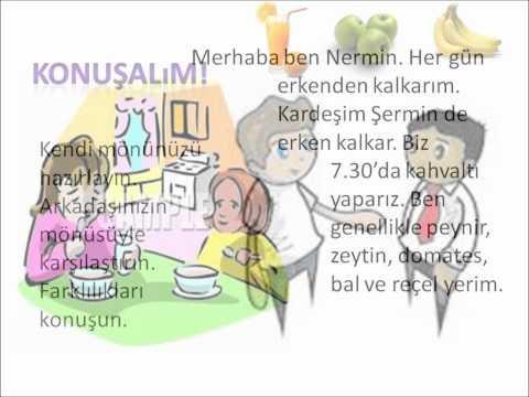 Türkçe Öğreniyorum - Yiyecek ve İçecekler