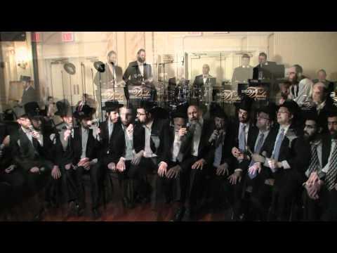 Mordechai Ben David, Shloime Dachs, Yeedle, Yumi Lowy and Shira Choir At the C C H F  Dinner
