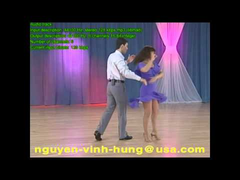 Tự học Khiêu vũ  Salsa _ Free Online Dance Lesson Salsa 1,2 - Full HD