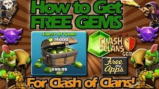How To Get Free Gems In Clash Of Clans!