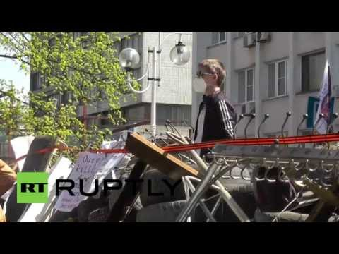 Ukraine: Mariupol demands Donetsk referendum