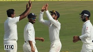 Ashwin's 5 for 51 downs South Africa; Ind. 2nd innings: 125/2