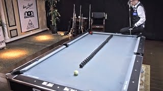 Beautifully Artistic Billiard Trick Shots