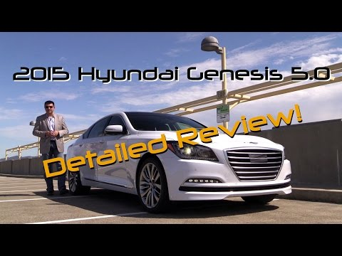 2015 Hyundai Genesis 5.0 DETAILED Review and Road Test