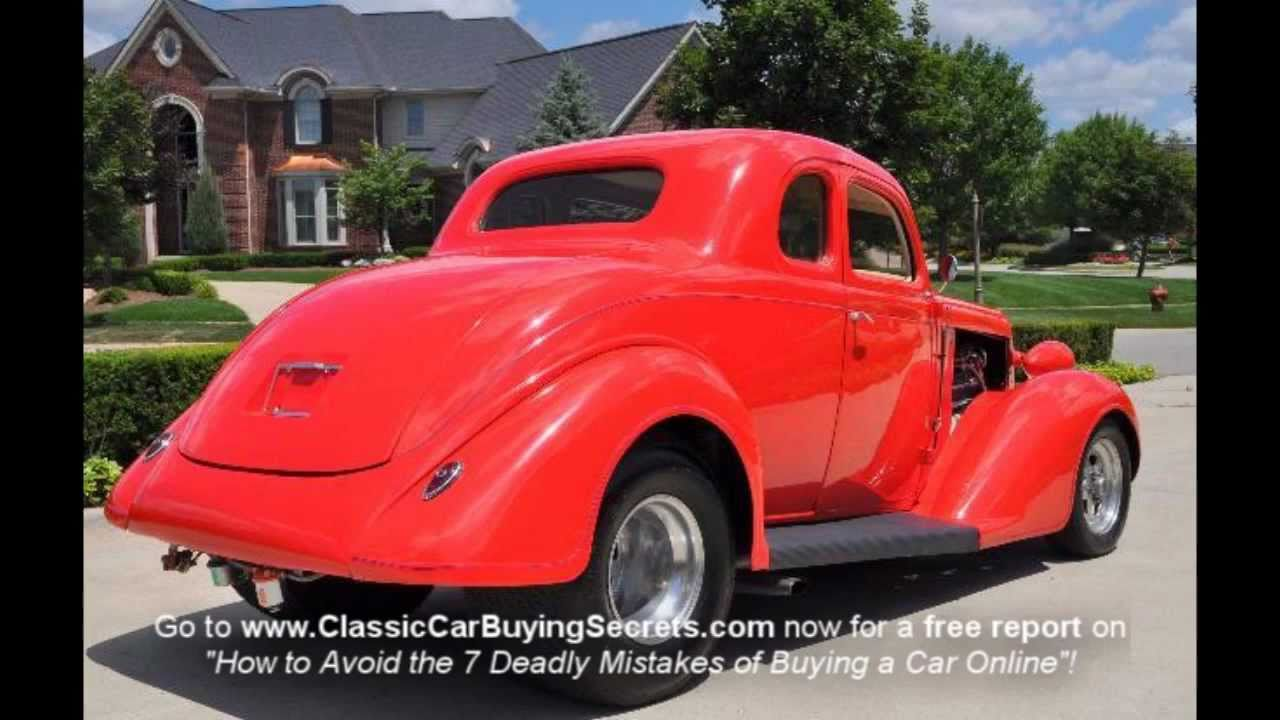 1936 dodge 5 window business coupe street rod classic for 1936 dodge 5 window coupe